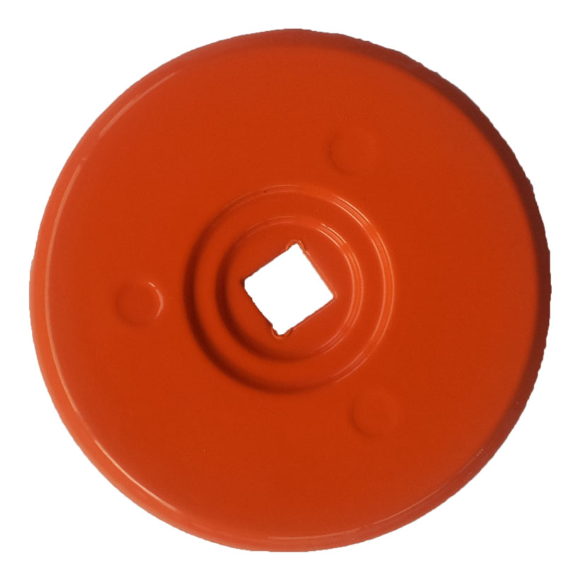 RONDELLE D'ARPENTAGE 70 mm orange par 10