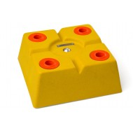 Tête POLYBLOC xy 300 x 300 mm jaune
